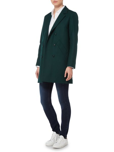Gant Double Breasted Wool Coat