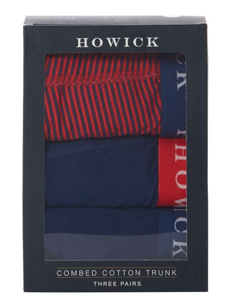 Howick 3 pack stripe trunk