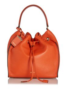 DKNY Orange Bucket Bag