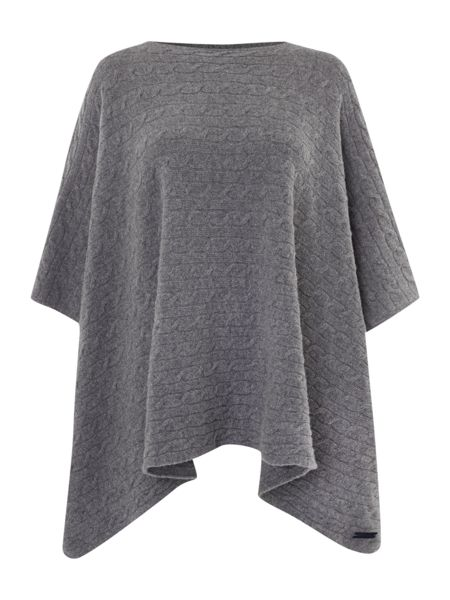 Gant Cable Knit Poncho