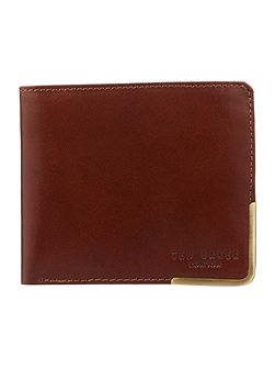 Breeze Metal Corner Bi-Fold Wallet
