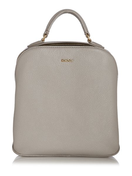 DKNY Grey Small Backpack