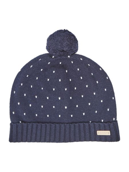 Gant Holiday Knitted Beanie Hat