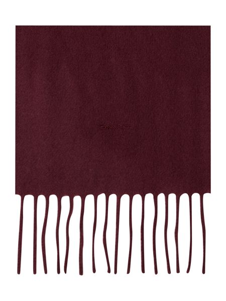 Gant Solid Lambswool Woven Scarf