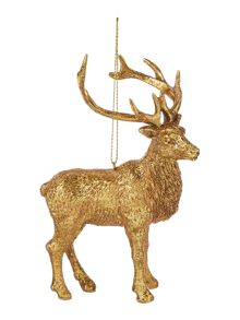 Linea Gold deer decoration
