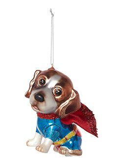 Super dog decoration