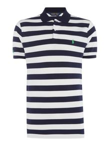 Polo Ralph Lauren Golf Slim Fit stripe The Open polo
