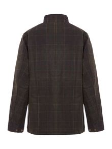 Barbour Boys Cord Collar Tartan Helmsdale Jacket