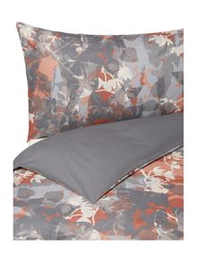 Linea Natures collage print duvet cover set