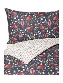 Linea Fable folk print duvet cover set
