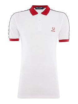 Short sleeve countries polo