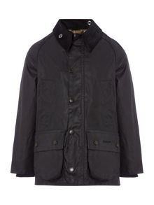 Barbour Classic Bedale Cord Collar Classic Wax Jacket