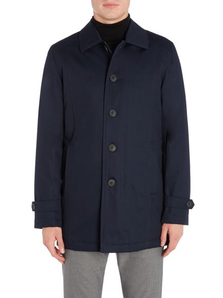 Selected Homme Tribeca Cotton Quilted Mac