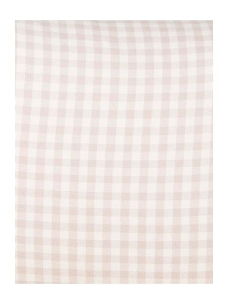 Linea Logan gingham flannel duvet cover set