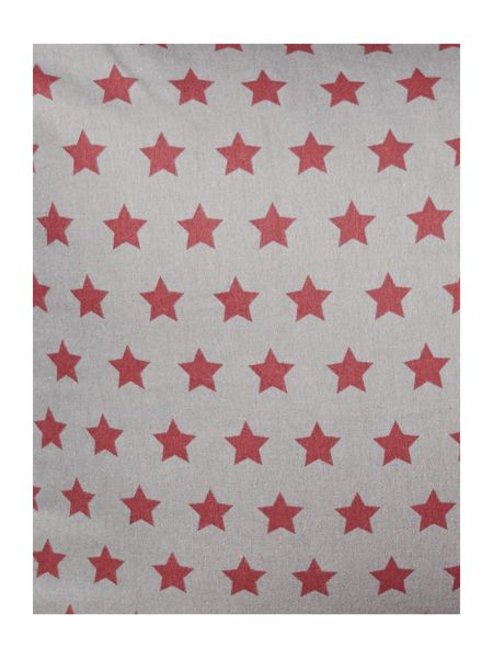 Linea McCann star flannel duvet cover set