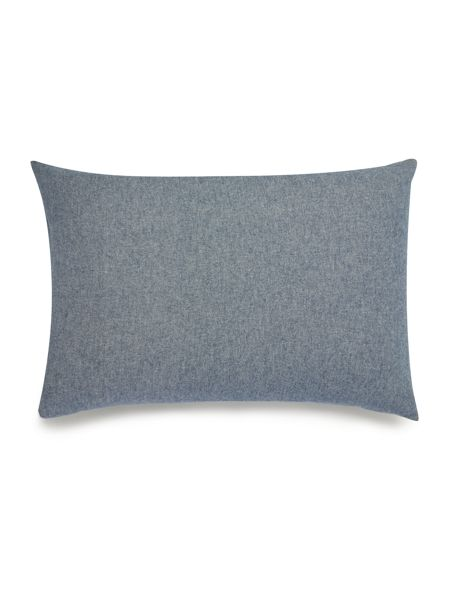 Linea Blue flannel pillowcase pair