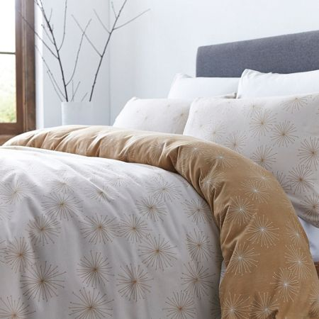 Gray & Willow Varberg flannel duvet cover