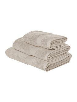 Velvet touch towels