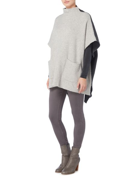 Gray & Willow Gala Oversized colour block jumper