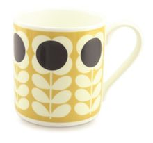 Orla Kiely Yellow Poppy Stem Mug