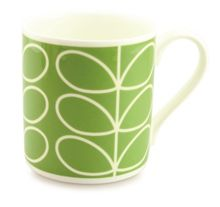 Orla Kiely Linear Stem Green Mug