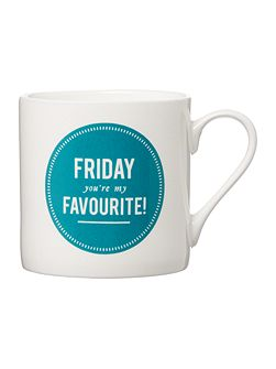 Friday You`re My Favourite Mug