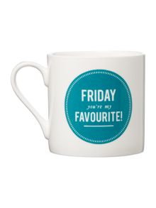 Alice Scott Friday You`re My Favourite Mug