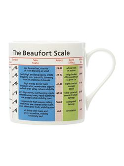 Large Beaufort Scale Mug