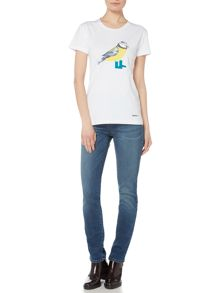 Barbour Brae bird tee