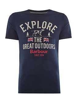 Explorer the great short sleeve tshirt