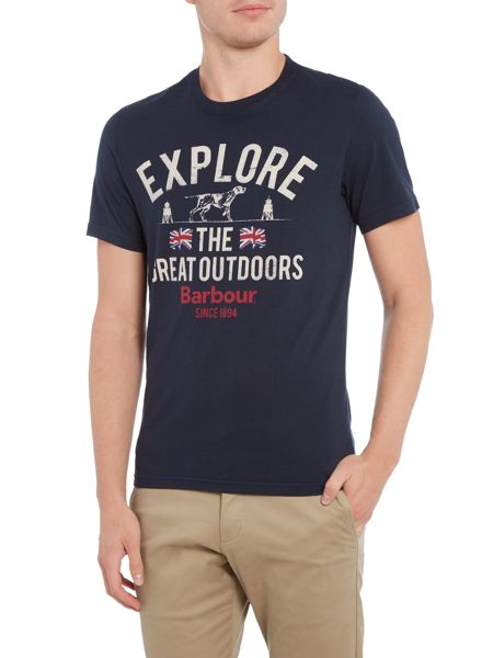 Barbour Explorer the great short sleeve tshirt