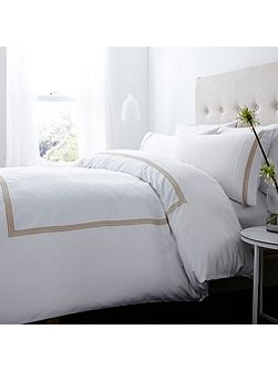 400 thread count frieze stitch duvet cover