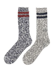 Howick 2 Pack Twisted Boot Sock