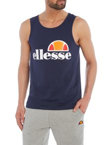 Ellesse Regular fit logo printed vest