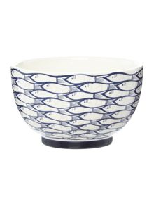 Jersey Pottery Sardine Run 13cm Bowl