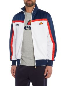 Ellesse Funnel neck zip through track jacket
