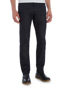 Hugo Boss Orange24 Barcelona regular fit dark rinse jeans