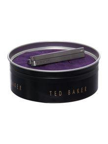 Ted Baker Brupin Stone and Brushed Tie Slide
