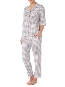 Cyberjammies Gingham check pyjama set