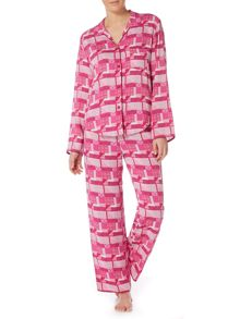 Cyberjammies Geo patchwork pyjama set