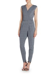 Michael Kors Sleeveless Wrap Jumpsuit