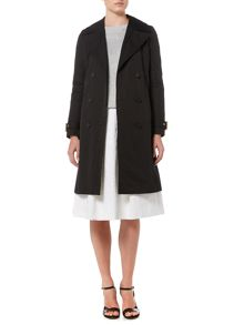 Michael Kors Fit And Flare Trench Coat