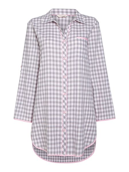 Cyberjammies Gingham check pyjama nightshirt