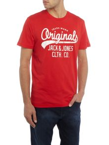 Jack & Jones Large Logo Crew Neck T-shirt