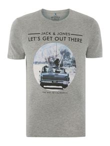 Jack & Jones Road Trip Graphic Crew Neck t-shirt