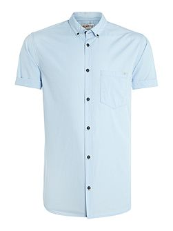 Button Through Short Sleeve Shirt
