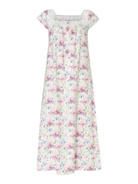 Nora Rose Woven floral nightdress
