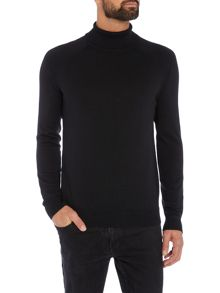 Selected Homme Dadam Cotton-Silk Roll Neck Knit