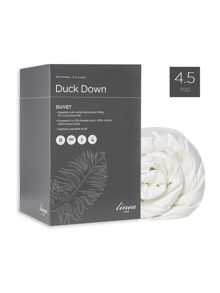 Linea Duck down duvet 4.5 tog