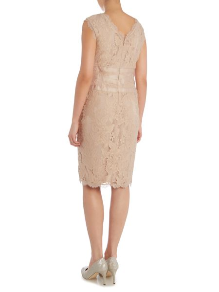 Adrianna Papell Sleeveless banded cocktail dress